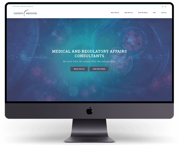 Regulatory Affairs Website