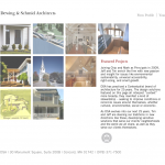 Page containing thumbnails for properties in that particular category, automatically generated.