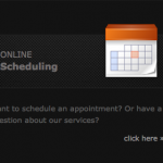 Online Scheduler allows clients to request services.