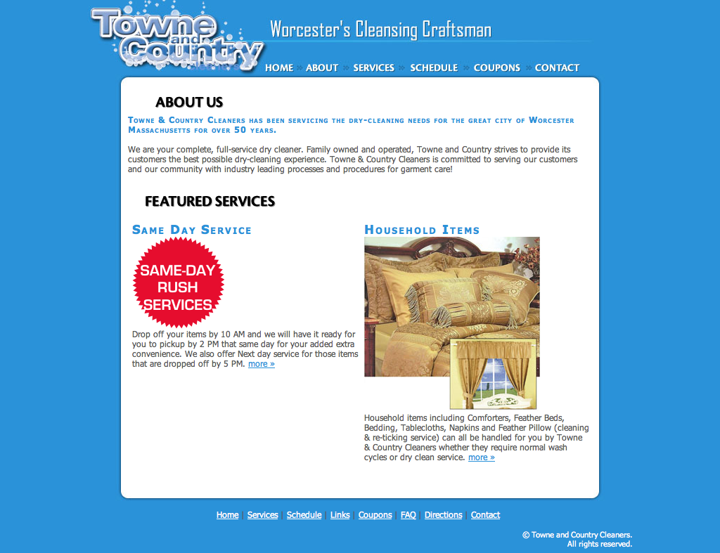 View details for TowneAndCountryCleaners.com